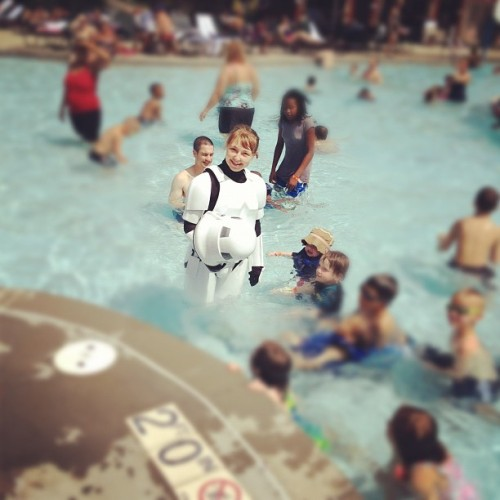 TK421 - Why Aren't You At Your Post (Taken with Instagram at Great Wolf Lodge)