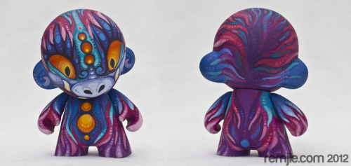 Finally made studio pictures with my little Nebular Munny.DOLLS FOR SALE!This is a mini Munny vinyl toy customization of KIDROBOT'S DIY Mini Munny. His name is Nebular Munny. He is 10 cm (4 inches) tall. This toy is painted with water based acrylic and sealed with few layers of matt varnish (eyes and accents are coated with glossy varnish).
