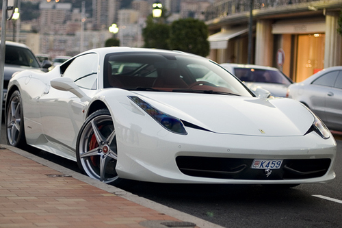 Ferrari 458 Italia via Thomas