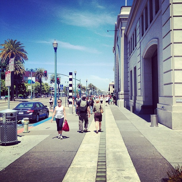 The Embarcadero (Taken with Instagram)