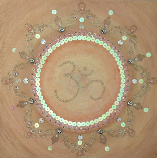Om - Original Painting by Magical Mystery Tuca on Flickr.