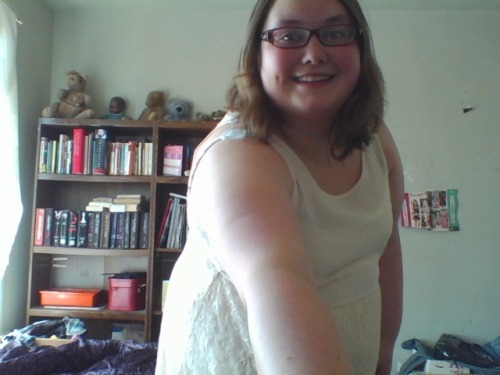 me in my new dress from H&M. I feel so pretty in it!