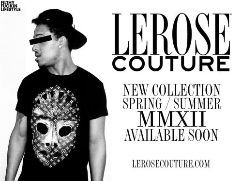 lerosecouture:  NEW COLLECTION AVAILABLE NOW ONLINE - WWW.LEROSECOUTURE.COM FOLLOW US @LEROSECOUTURE