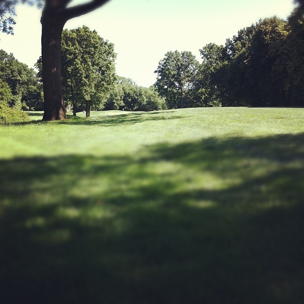 #golf #grass #serenitynow #hello6hourround (Taken with Instagram at Dyker Beach Golf Course)