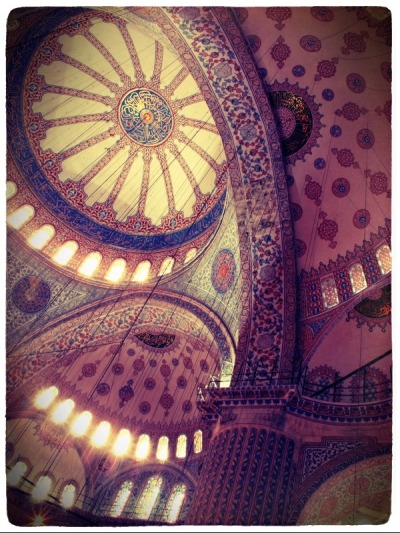 Another shot at the Blue Mosque, Istanbul