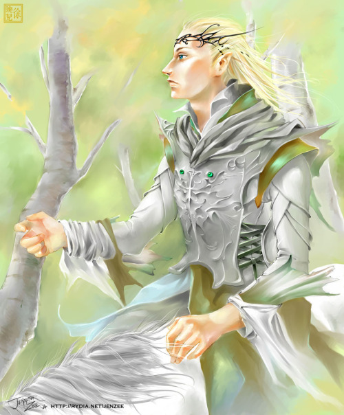 anchsepaisis:  Lord of the Rings : Glorfindel by *JenZee