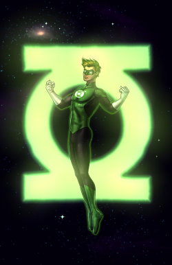 dcplanet:  Green Lantern Fan Art by RichBernatovech   Check out my other blogs… Sexy.Beautiful.Women  My Stuff!! Dammit!!   Anime & Comic Art