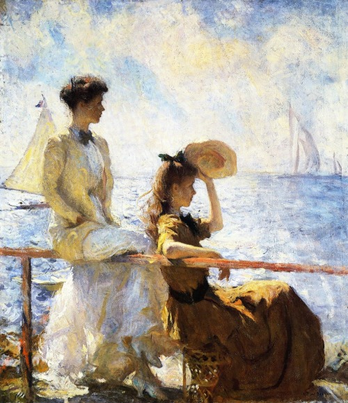 Summer Day, Frank Weston Benson