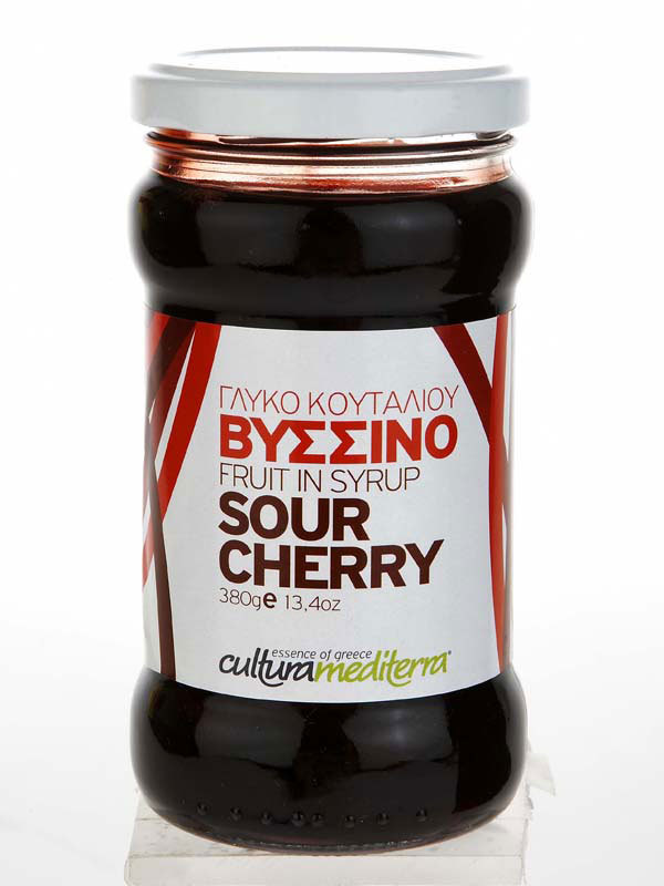 ~sour cherry~ [fruits preserve in syrup]