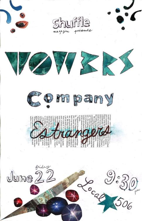 t0w3rs/company/estrangers @ local 506 on friday june 22!!