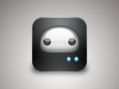 Rebounded Simple Robot - icon by Cole Rise