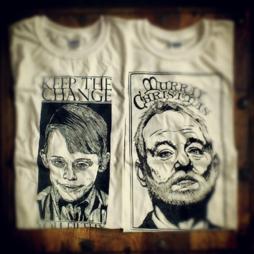 lukedixonart:  Sneaky little test run t-shirts on sale for tonight & Sunday. All perfectly fine, lovely t's - printed onto fitted, 100% cotton. There just from our early test runs with the new equipment! They've only been up 20 mins & theres under 30 left!………Only £9.99!THEBEARHUG.COM