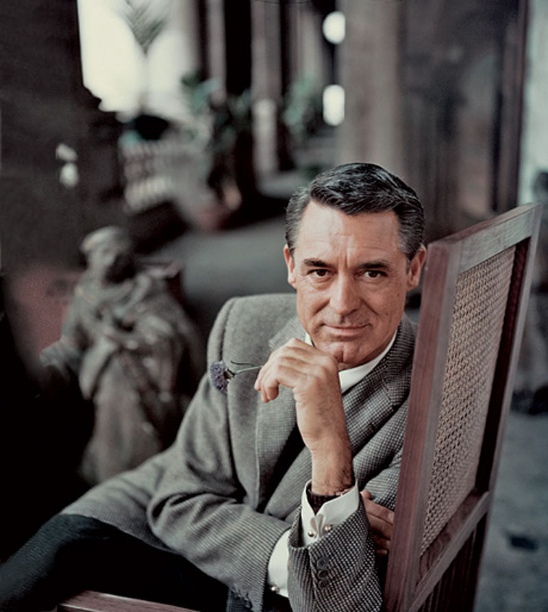 oldfilmsflicker:  cary grant by milton greene.