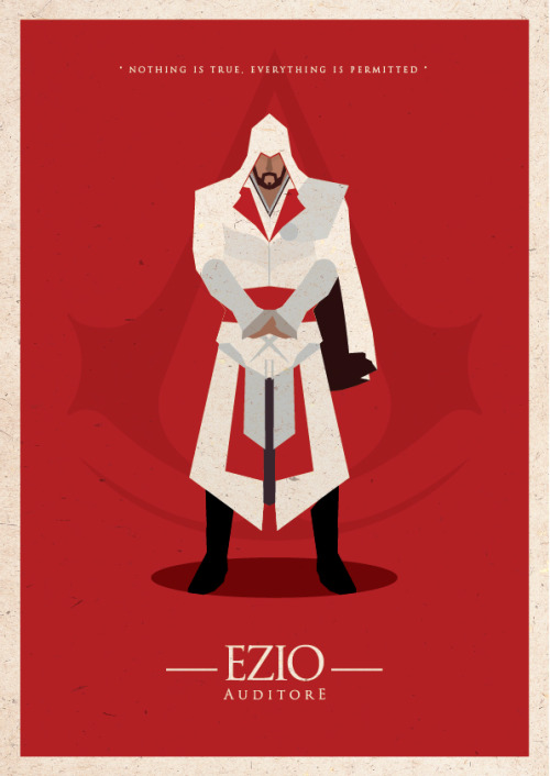 zharifsafian:  Assassin's Creed Minimal Poster