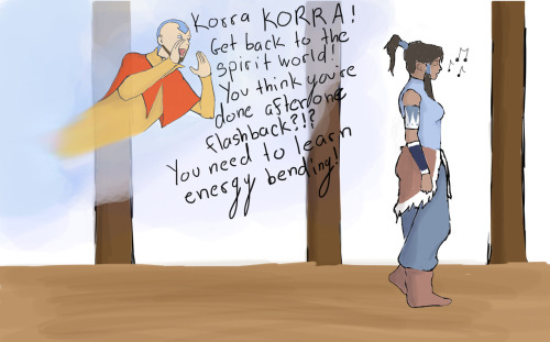 Can this please happen?? Korra seriously needs to learn energy bending. I haven't given up hope for Lin yet!!!