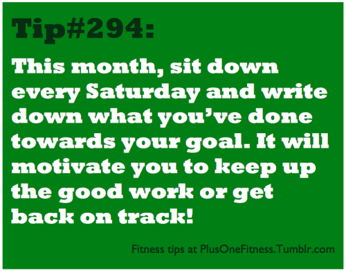 healthformyself:  plusonefitness:  Fitness tip #294  I'm going to start this on Sundays(: