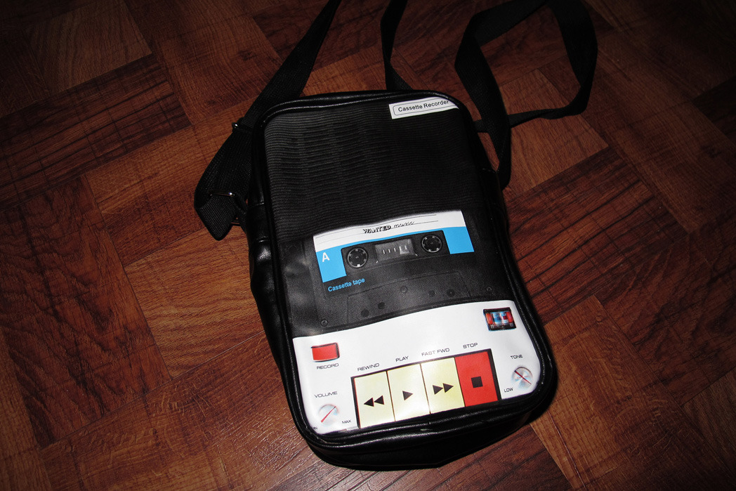 cassette recorder bag