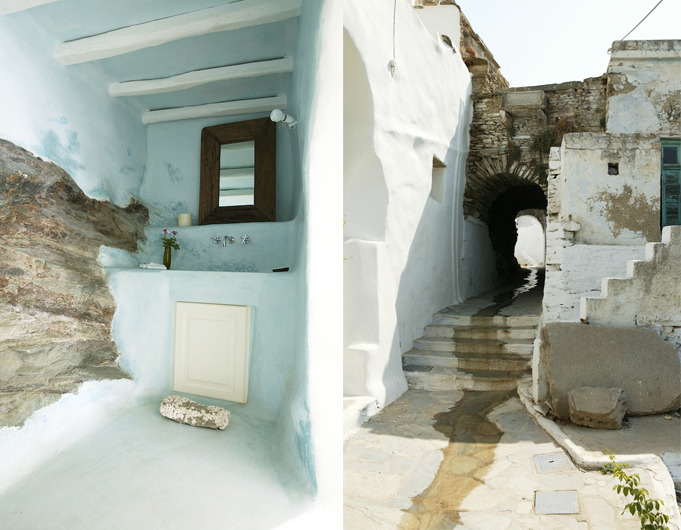 (via Private House in Tinos | Yatzer)