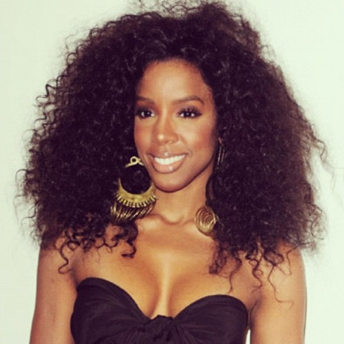 Day16: #naturalglamchallenge  celeb spotlight: Kelly  (Taken with Instagram)