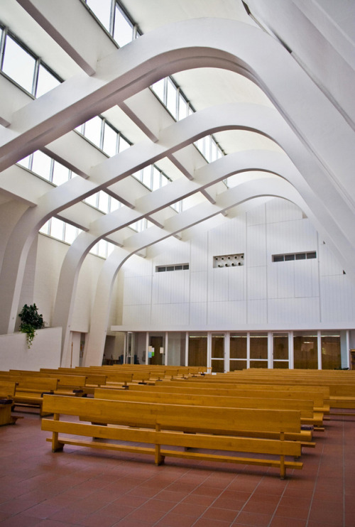 agujerosblancos:  (vía Riola Church and Parish Centre in Italy, Alvar Aalto | OEN)