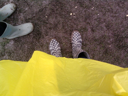 Festival of Mud and Obnoxiously Yellow Rain Macs