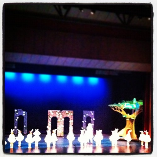 Out and about - at the theater watching Scarlett dance #photoadayjune  (Taken with Instagram)