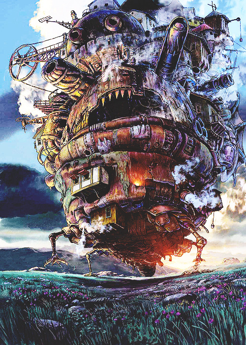 Howl's Moving Castle <3