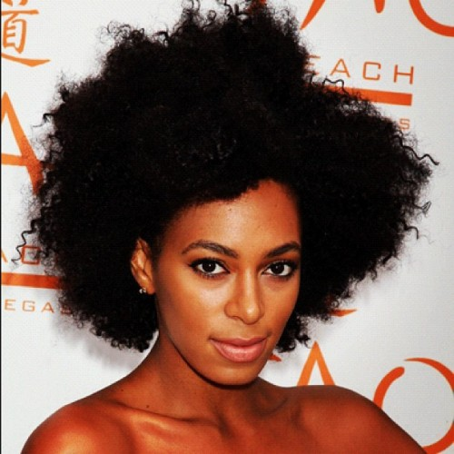 Day16: #naturalglamchallenge  celeb spotlight.  Solange (Taken with Instagram)