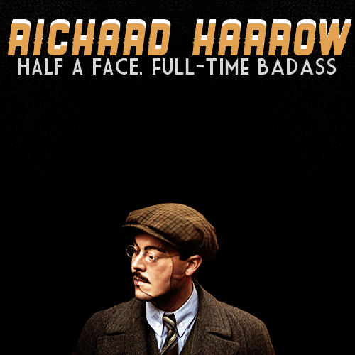 BOARDWALK EMPIRE CHARACTER POSTERS — Richard Harrow.