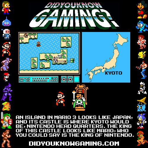 didyouknowgaming:  Super Mario Brothers 3.
