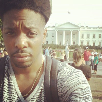 Had to holla at Barack real quick. Wassup Nigga! (Taken with Instagram)