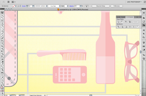 Work, work, work. Another screen shot of what I'm working on.
