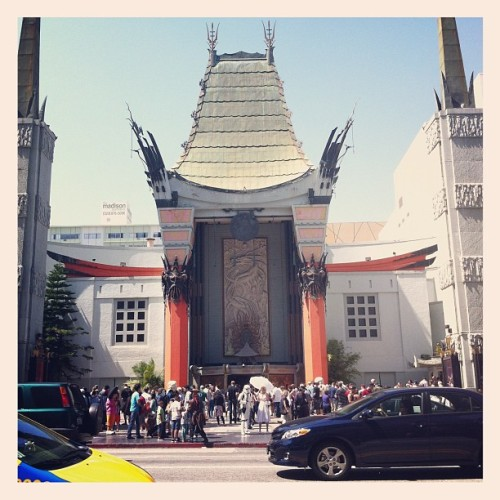 Taken with Instagram at Grauman's Chinese Theatre
