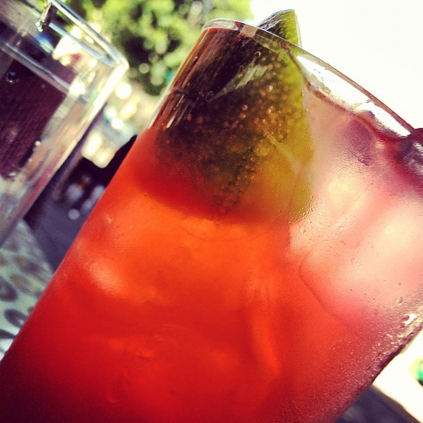 Rangoon Ruby at Trader Vik's #daydrinks (Taken with Instagram at Trader Vic's)