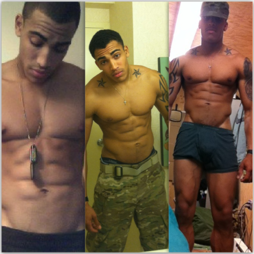 poppasplayground:  #SexySaturdays Soldier #Boy of the Week