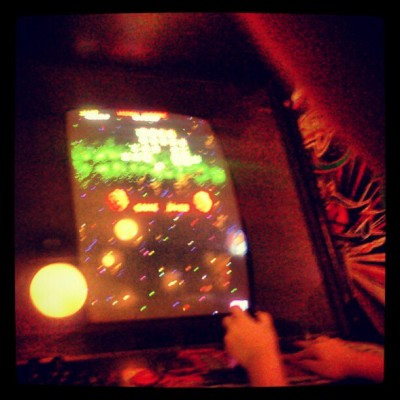 #galaga #arcade #LeilanyJoy  (Taken with Instagram)
