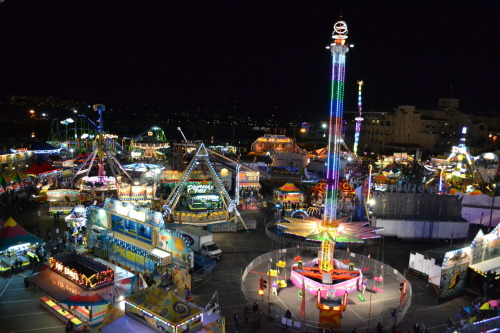 Amateur shot of Del Mar Fair at Night.  Submitted by multiplicityy.
