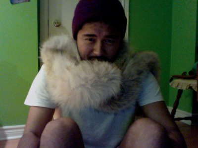Furry outfit for tonight.