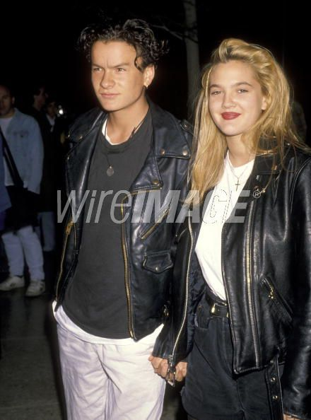 Balthazar Getty & Drew Barrymore, 1990