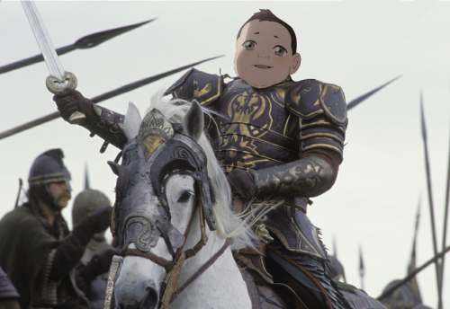 tineghealain:  the knights of Rohan has anyone made this yet?