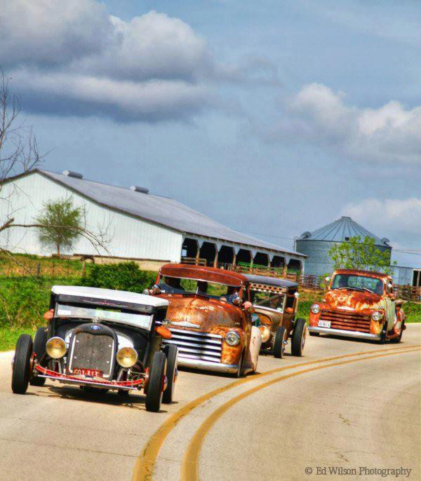 Rat Rod convoy