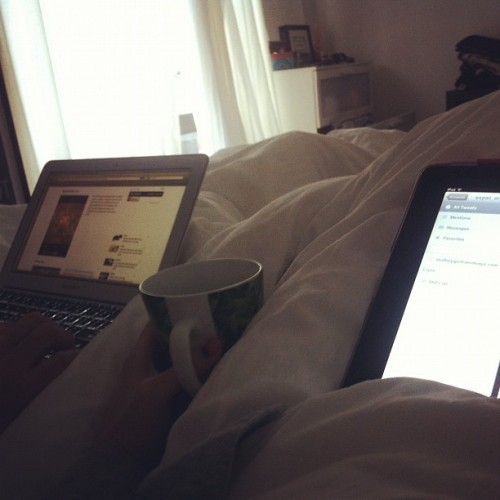 Lazy Sunday morning. (Taken with Instagram)