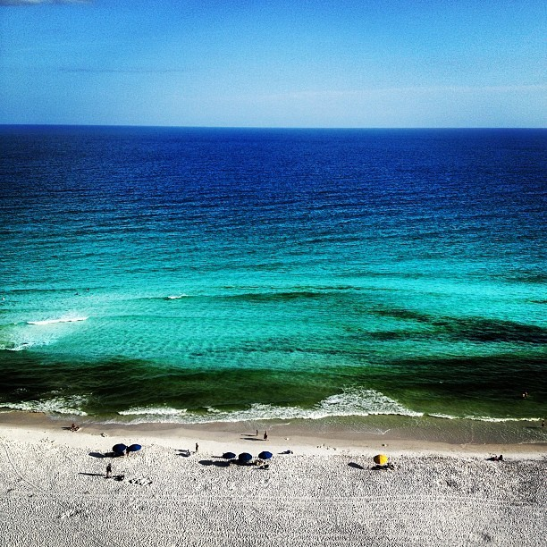 #azul #aqua (Taken with Instagram at Destin, Florida)