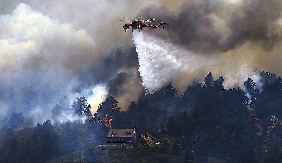 Colorado wildfire: High Park Fire claims 181 homes Larimer County Sheriff's officials said this afternoon that the number of homes lost in the High Park fire has reached 181, the most in Colorado history surpassing the Four Mile fire in 2010, which claimed 169 homes. This morning's fire briefing put the fire at more than 54,232 acres burned, the third-largest in recorded Colorado history. Only the Hayman fire at 137,760 acres and Missionary Ridge, at 71,739 acres are larger, and those fires happened during the drought of 2002.