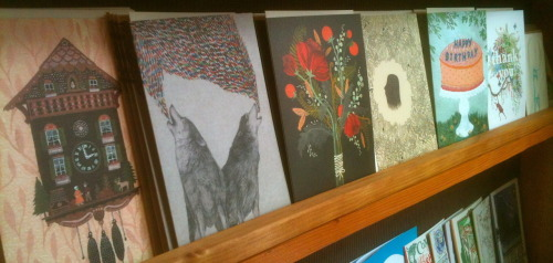So many amazing new cards from Little Otsu! Perfect for summer love notes:) Stop in on this beautiful, sunny weekend to check them out!