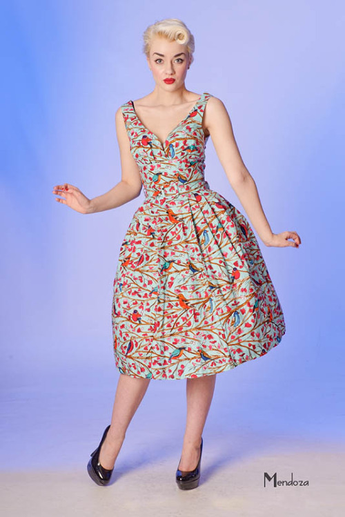 bettylebonbon:  'Retro frock' by Limb clothing. I swear every time I buy a new dress (or two) I feel like it'll sate my frock-addiction. I mean, I only just got the two dresses I'd been lustily over heartily for the last couple of months. And yet the number of dresses I want right now? I'M JUST TERRIFIED I'LL NEVER GET TO HAVE THEM ALL. This is probably leading to another 'lust list' that I'll put up during the week. Just so I don't forget anything. Meanwhile, my Greek Adonis is due back in Australia today and has confirmed he brings with him shoes to appease my shoe fetish.  Oh my, do I ever know what you mean (about the frock-addiction, not the Greek Adonis). It worries me that it is never enough, that I NEED ALL THE DRESSES. Is there a frock addicts anonymous we could join?