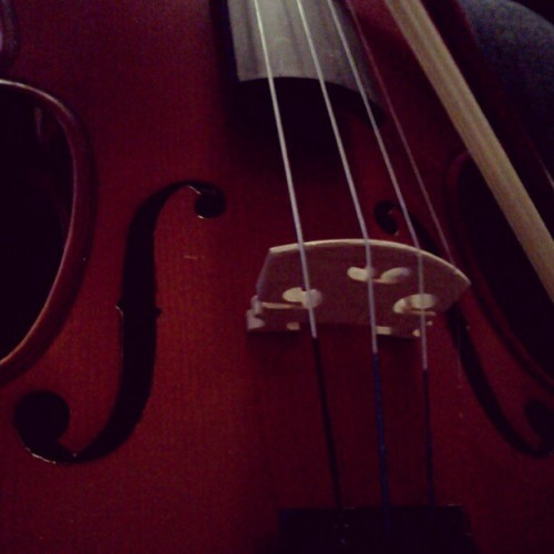 oh beautiful instrument, please be easier to play. (Taken with Instagram)