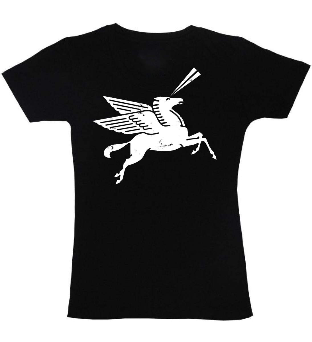 Getting back into the swing of t-shirt printing…The 'Laser Pony' tee is available again on Etsy for a limited amount of time. Now taking pre-orders.