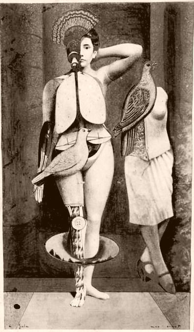 (via Strawberige: deux)  Santa Conversazione by Max Ernst, 1921