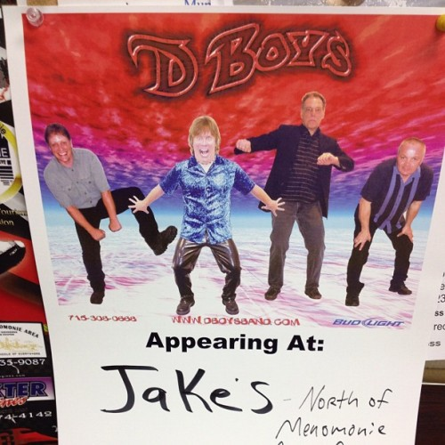Wishing our show posters could be this rockin'  (Taken with Instagram)